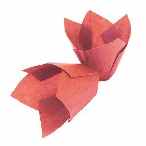 Papirići za muffine - Crveni