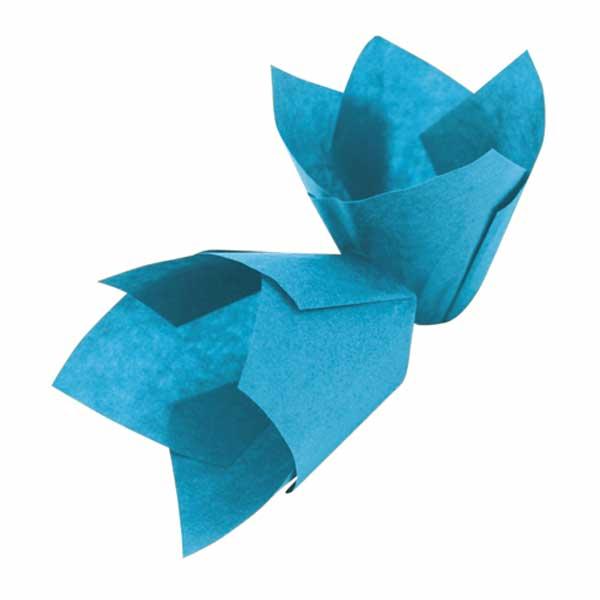 Papirići za muffine - Plavi