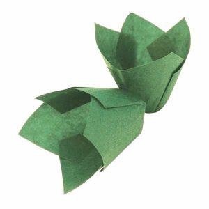 Papirići za muffine - zeleni