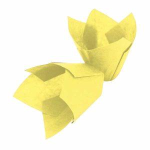 Papirići za muffine - žuti